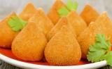 Coxinha de Frango 1 kg, frittiert, tiefgefroren ( Já Fritas para o Forno ) MHD 30.05.2020